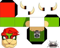 Bowser 3ds Commercal p1 by hollowkingking