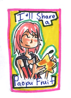 Valentine Card: Kairi by HappehCakes