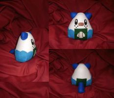 Cosplay Onigiri - Oshawott by merlinemrys