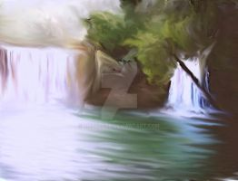 More painted waterfalls by lmtcloud