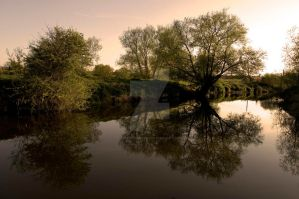 Evening Water by tpphotography
