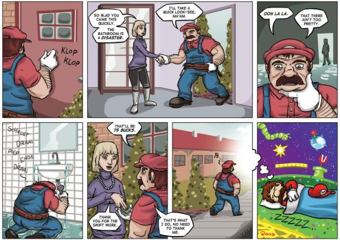 NGamer 10: Galaxy Plumbers by captainaugust