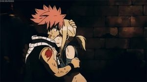 NaLu Hug In The Movie by mrseucliffex