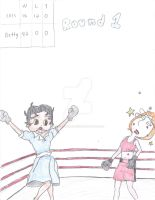 Betty Boop Vs Lois Griffin Boxing! by CartoonWomenBoxing