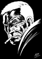 Carver Hale after Frank Miller by allistermac