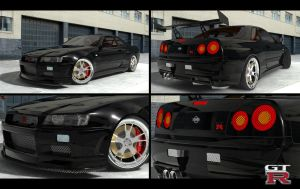 Nissan Skyline GTR 001 by lutfubey