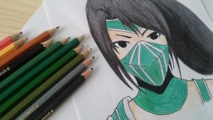 Akali - The fist of shadow by Dgk69