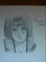 Itachi from Naruto by captonstu