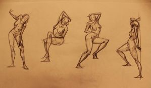 Life Drawing 5min by marvelmania