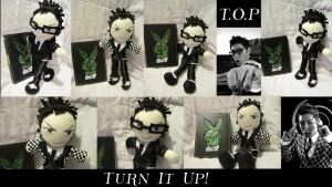 """T.O.P Plushie """"Turn it up"""" by VilleVamp"""