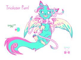 Trickster Purrl Reference 2014 by Purrlstar