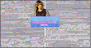 +MEGAPACK DE STYLES POR +700 WATCHERS by LupishaGreyDesigns