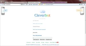 Oh, CleverBot... by KeevanGoliath