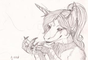 Commish WIP- Strange Fascination by Earthsong9405