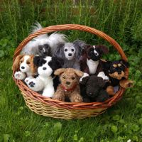 Basket full of puppies by demiveemon
