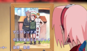 Sakura Haruno and her Parents by Moonbeam-chan