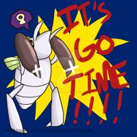 It's Go Time by Inkblot-Rabbit