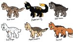 Warrior cats Adopts : Free by ThePotato-Queen