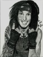 Christian Coma BVB black and white by xxdaswarwohlnix