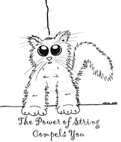 The Power of String Compels You Kitty by Oriana-X-Myst