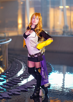 RWBY cosplay: Yang Xiao Long III by Adurnah