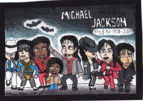 Many stages of Michael by Becky-GirlDDD