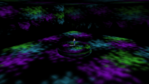MMD Purple Circle Stage by mbarnesMMD