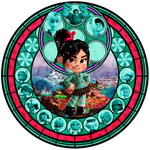 Station of Sweets :Vanellope Von Schweetz: by Xelku9