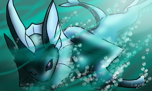 4-Vaporeon by Neonfluzzycat