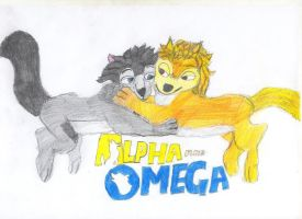 alpha and omega kate and hump by Ricsi1011