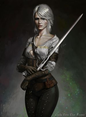 Ciri by PemaMendez