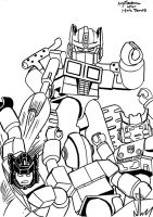 KreO Transformers 12 lineart by AndyTurnbull