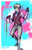 What a waste of good tea by AlyssaTye