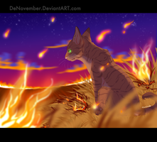 fire in the sky by DeNovember