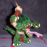 Lizardman Mini with Club by the-gil-monster
