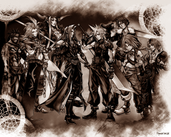 Dissidia FF7-10: Brown by DymedAnGel