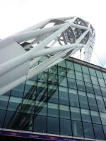 Wembley Stadium Arch by ggeudraco