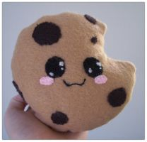 Cookie plushie by anakomb