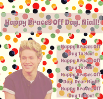 Happy Braces Off Day, Niall! by iluvlouis