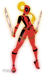 DSCLadyDeadpool by TULIO19mx