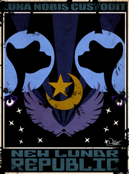 Luna Watches Over Us by the-Orator