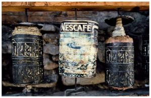 Prayer Wheels by UnderTheCokeSign