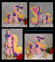 Princess Cadance Plushie More Views by Drachefrau
