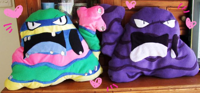 Muk bae cushions by scilk