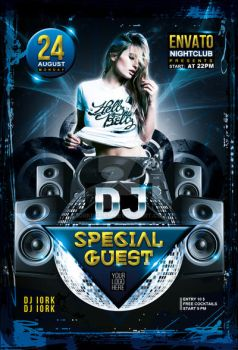 Dj Guest Party Flyer by iorkdesign
