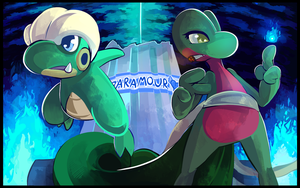 Commission: Team Paramour by HERthatDRAWS