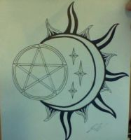 Wicca Tattoo by CustomDjinni