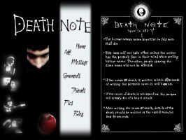 Death Note by Jacoripper