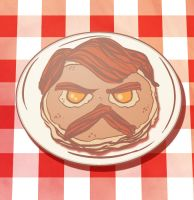 Ron Swanson Breakfast by Fishmas