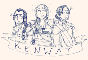 The Ladies Kenway by cap-cap